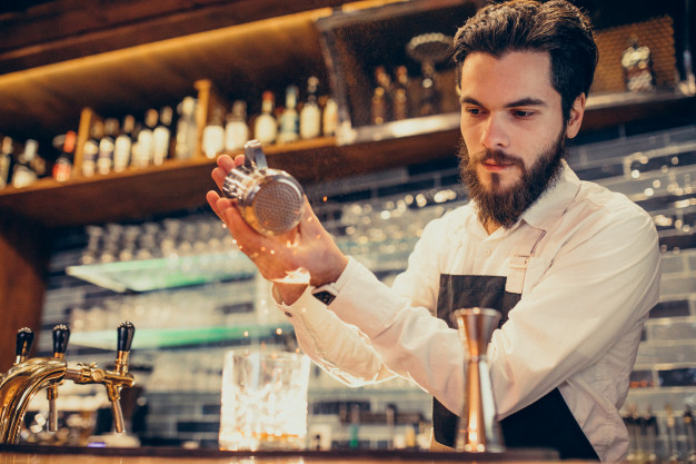 bartender der laver gin