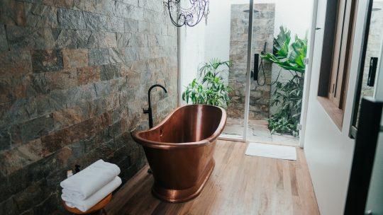 Giv dit badeværelse et middelhavs look