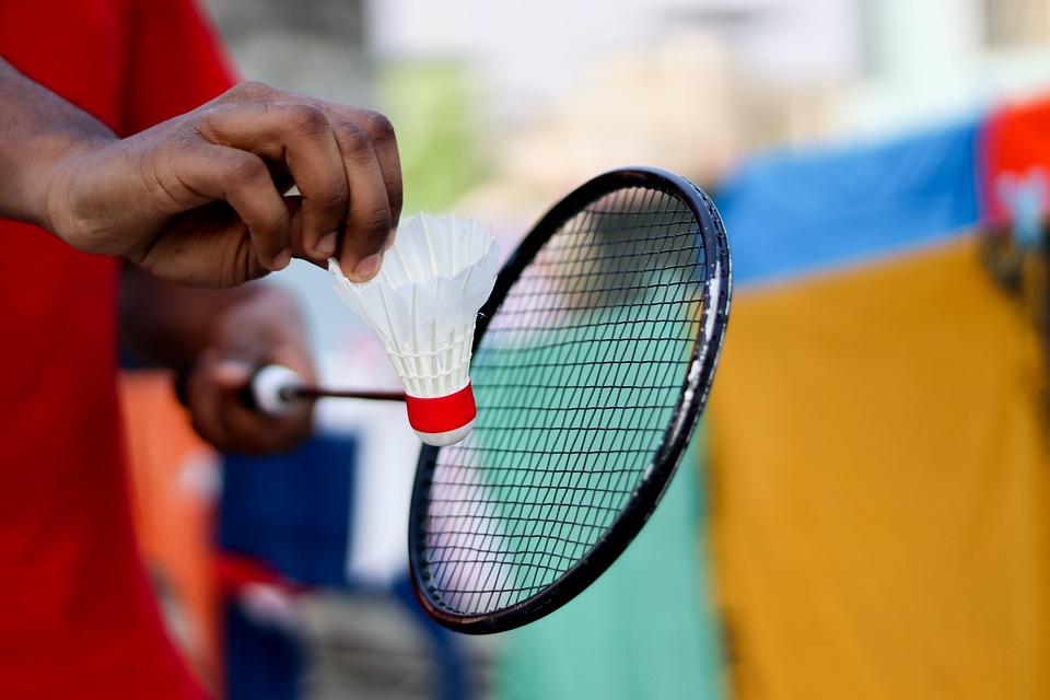 Badmintontasken gør det let at motionere dagligt